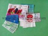 Boa impressão de etiquetas PVC encolhíveis para embalagem de garrafas