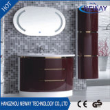 Simple Design LED Type de miroir Modern Bathroom Cabinets