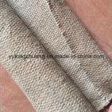 Paño refractario de la fibra de cerámica de los materiales de aislamiento termal con la capa de la vermiculita