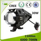 faro del motociclo LED del CREE di 12-80V 30W