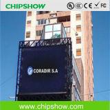 Chipshow P10 imperméabilisent le panneau polychrome de signe de DEL