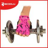 屋外スポーツの重量挙げの手袋の半分指の循環の手袋の通気性の体操の手袋