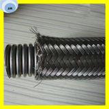 Flexibler umsponnener HochdruckEdelstahl-gewölbter Schlauch für Wasser