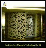 Mobilia di alluminio del comitato del favo della decorazione della parete esterna dell'interiore