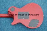 De metaal Elektrische Gitaar van Les Lp van de Kwaliteit van Floydrose van de Rode Kleur