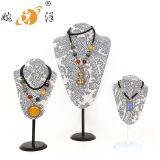 목걸이 (LJ-008)를 위한 새로운 디자인 금속 기초 보석 전시