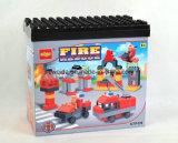 67PCS消防車のバケツが付いている教育おもちゃのブロック