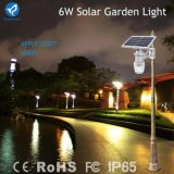 1개의 태양 LED 정원 램프에서 3years 보장 IP65 전부