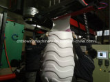 Máquina de alta velocidad automática del moldeo por insuflación de aire comprimido con el relleno de la presión y el relleno por gravedad