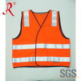 Fluo Orange Reflective Vest (QF-546)