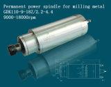 Metallo che macina e che incide asse di rotazione con il raffreddamento ad acqua (GDK110-9-18Z/2.2-4.4)