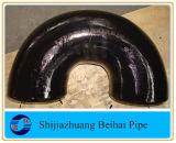 180 LR Elbow o encaixe de tubulação do aço de carbono Sch40 B16.9