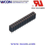 longueur terminale de double rangée de 2.54mm : en-tête femelle de 11.0mm