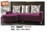 Sofá moderno de la tela dimensión grande de las ventas de la pequeña (890B)