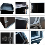 Equipo de audio impermeable de aluminio de la caja de vuelo