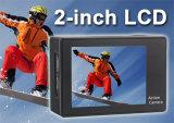 HD 4k 2.0のインチLCDスクリーン30mの防水小型スポーツDVのカメラ