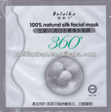 Blanchiment du masque en soie naturel de demande de règlement de visage de L-Vc