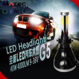 Farol colorido do diodo emissor de luz do carro da energia da economia da câmara de ar de Guangzhou Matec, H4 H7 H11 9005 9006