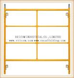 Échafaudage de bâti de H pour la construction Q235 d'ingénierie