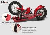 特許を取られたデザインE-Scooter Jiexg Mini 48V 500W 55km、Fast Folding、Quick Change Battery、Adult電気Scooter.