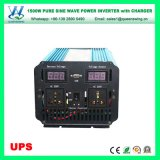 1500Wは調整する充電器(QW-P1500UPS)が付いている純粋な正弦波太陽インバーターを