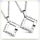 De Halsband van de Tegenhanger van de Manier van de Juwelen van de Manier van de Juwelen van het roestvrij staal (NK728)
