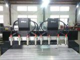 Pistas dobles del CNC 8 del eje de Z que graban el ranurador de la maquinaria