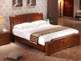 Camas matrimoniales modernas de la cama de madera sólida (M-X2240)