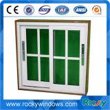 Aluminiumlegierung-Rahmen-horizontales schiebendes Schärpe-Glasfenster