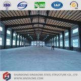 軽い鉄骨構造の倉庫の建物