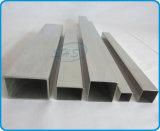 Tubos rectangulares del acero inoxidable para el pasamano de la escalera