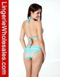 Сексуальный ретро Swimwear Halter Бикини флористической печати Paisley