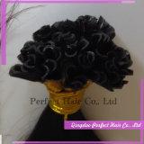 Cabelo italiano da queratina do cabelo brasileiro do Virgin
