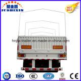 De goedgekeurde CCC 3 van ISO Aanhangwagen van de Vrachtwagen van de Zijgevel van Assen 33ton met het Frame van het Canvas