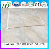 20cmの幅の正常な印刷PVC壁パネルの平たい箱または溝の装飾デザイン