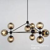 Luz de vidro A70-10 do candelabro de Modo do projeto original