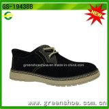 De los hombres de los zapatos zapato de alineada plano ocasional de los hombres lo más tarde posible único