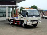 Mini camion à plat de dépanneuse de route de JAC 4X2