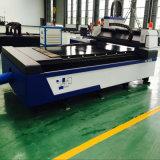 Machine de découpage de laser de fibre d'acier du carbone d'acier inoxydable