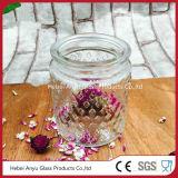 Botella de cristal del tarro de cristal del almacenaje para el alimento