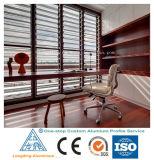 مصنع عادة [ألومينيوم لّوي] قطاع جانبيّ لأنّ مصراع نافذة مصراع باب