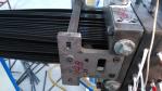 20 ватт  Машина лазера с системаа управления маркировки уха для прокладки изоляции жары пластичной