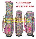 Saco de golfe de viagem Saco de clube de golfe com design de bordados