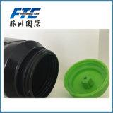 Sport che beve liberamente la bottiglia di acqua di plastica BPA del PE
