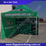 tente UV de salon de polyester de protection de 3X3m, tente d'usager