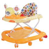 8つの車輪の販売のための簡単なプラスチック河北の赤ん坊の歩行者