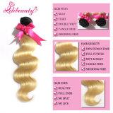 Virgin Malaysian 머리 Ombre 색깔 머리