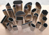 Tubo de la ranura del acero inoxidable ASTM-A554 304 316 (CY)