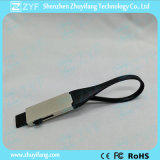 USB 지팡이 (ZYF1723)를 미끄러지는 2016 창조적인 고급 Keychain