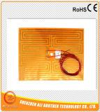 riscaldatore elettrico flessibile della stagnola di 24V 40W 119*104mm Polyimide
